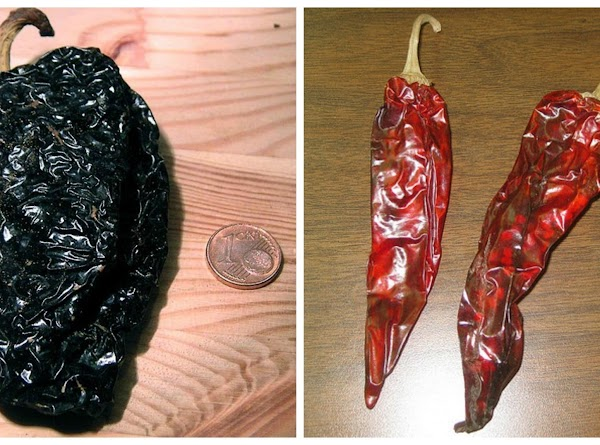 Leave pepper seeds in for more heat, or remove for less.  You can...