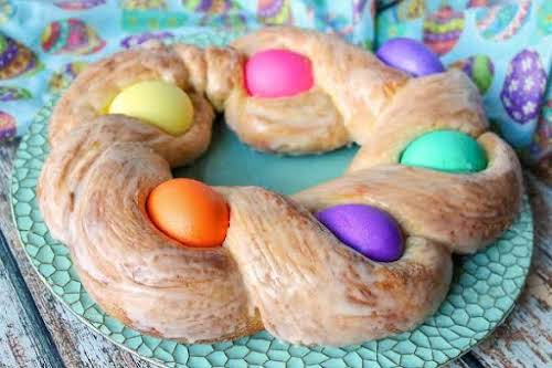 """Italian Easter Bread """"This is a very easy, slightly sweet bread that..."""