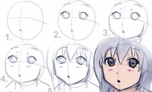 How to draw anime tutorial download.