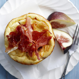 Prosciutto and Fig Mini Cheesecakes