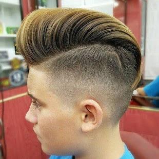 Hair Styles Boys Amusing Latest Boys Hair Styles  Boys Hair Style 2018  Android Apps On .