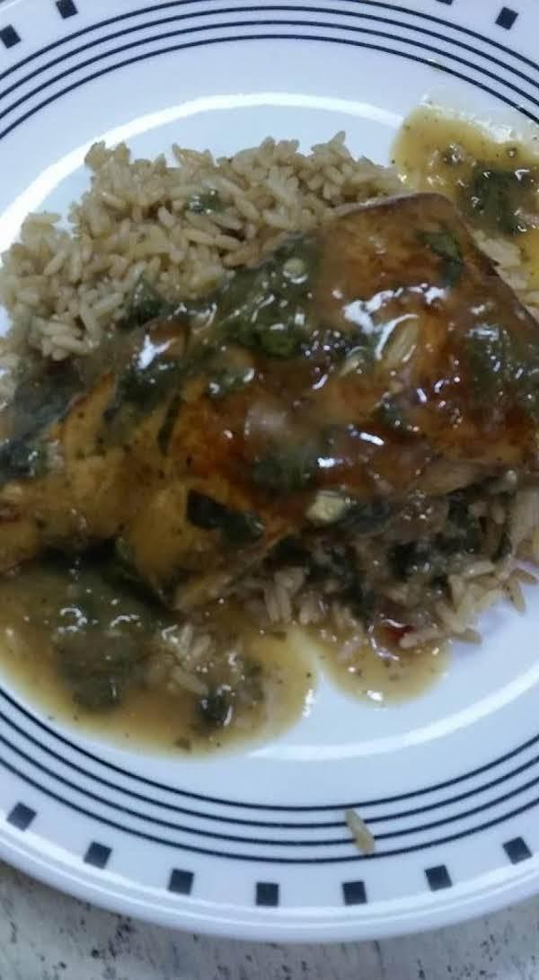 Creamy Garlic/spinach Chicken