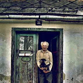 Old man by Karel Šula - People Street & Candids