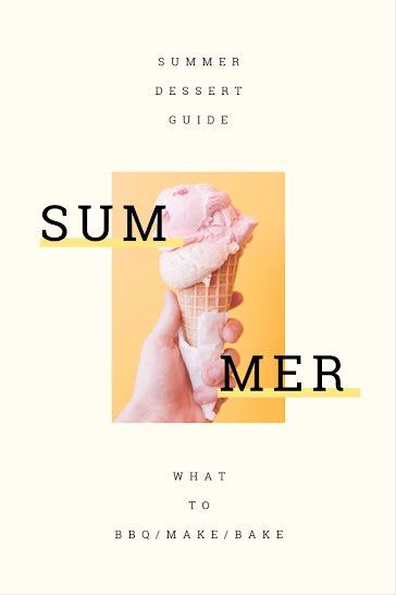 Summer Desert Guide - Pinterest Pin template