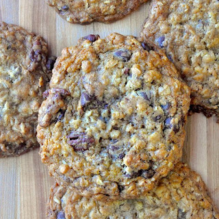 Chocolate Chip Pecan Crunch Cookies