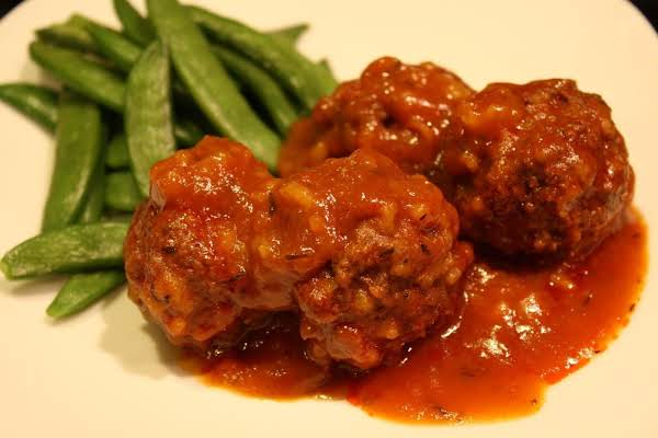 Mom's Beef Porcupine Meatballs Recipe