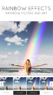 Rainbow Love: Regenbogen-Foto-Filter u. Foto-Kunst Screenshot