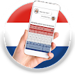 Netherlands Flag Keyboard - Elegant Themes APK