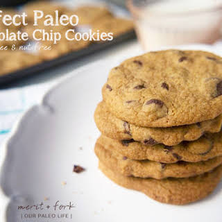 Perfect Paleo Chocolate Chip Cookies.
