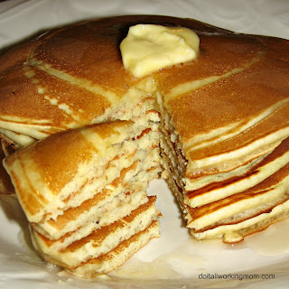 Homemade Freezable Pancakes.