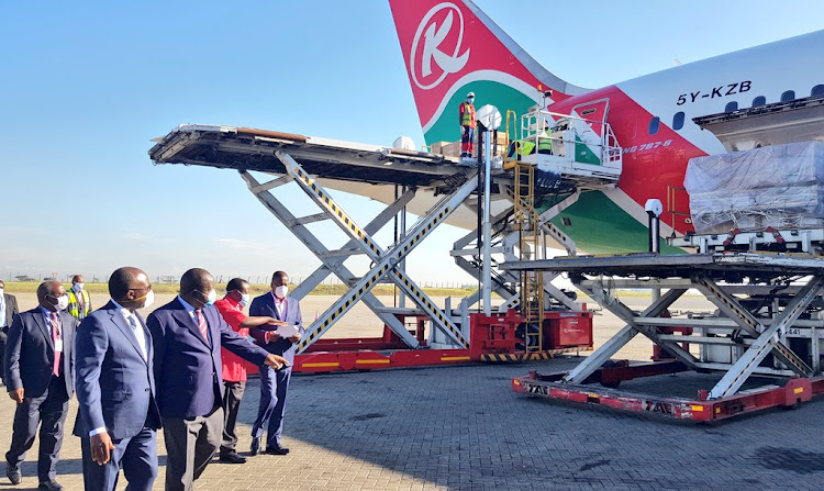 Kenya receives another consignment of medical supplies from China