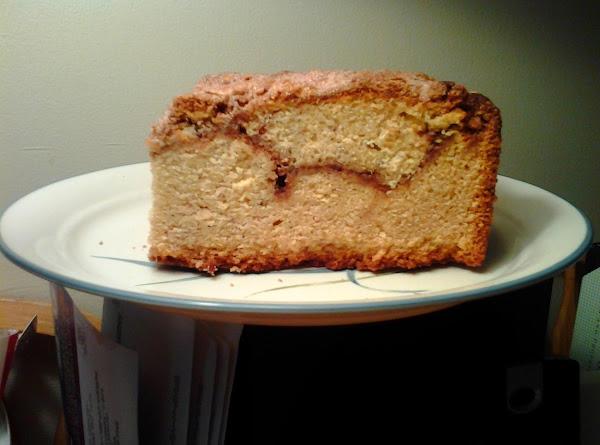Rustic Almond Streusel Swirl Coffee Cake Recipe