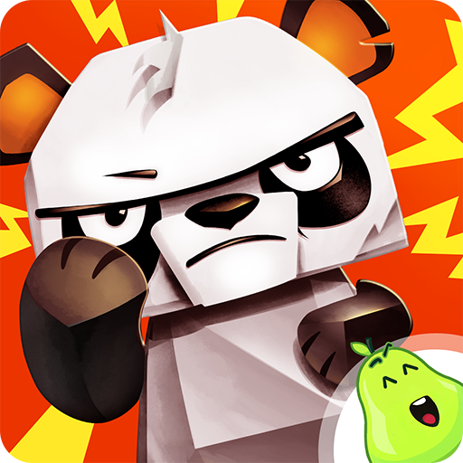 Cranky Bamboo! - Grumpy animal vs angry volcano Icon