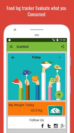 IEatWell:Food Diary&Journal Healthy Eating Tracker screenshot 1