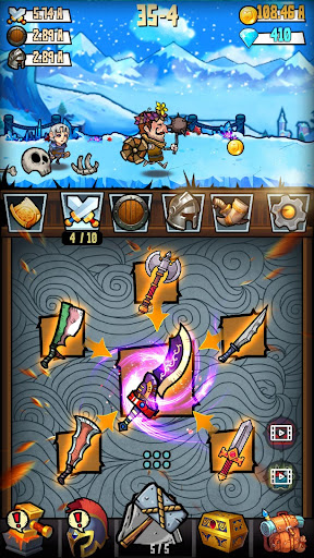 Code Triche Merge And Forge : Idle Weapon Master mod apk screenshots 1