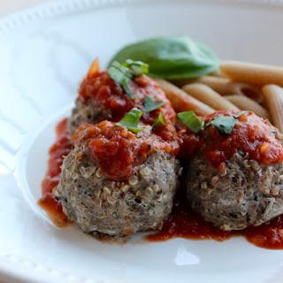 Italian Quinoa Meatballs