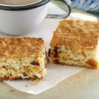 Honey, Fruit and Oat Bars