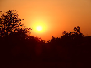 Photo: Sunset always draws my attention wherever I am in India.