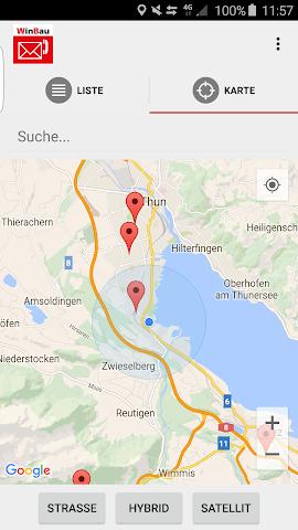 android WinBau Adressen Screenshot 1