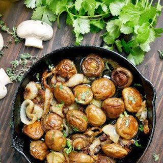 Balsamic Shallot Mushrooms Recipe