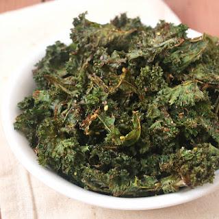 Za'Atar Spiced Air-Fried Kale Chips Recipe