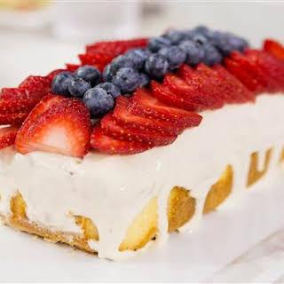 Sunny's Easy Patriotic Poke Cake.