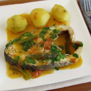 Perch With Onions.