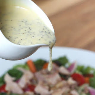 Honey Mustard Poppyseed Salad Dressing.