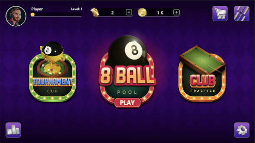 8 Ball Billiard - Offline Pool Game  captures d'u00e9cran 2