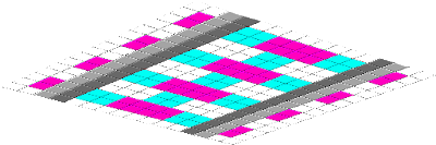 My favorite colors are pink and teal so that is the theme of this texture pack.