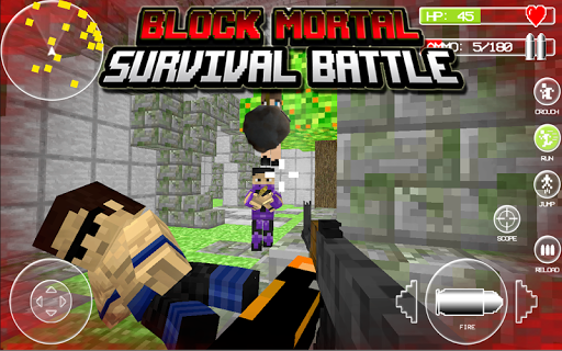 Block Mortal Survival Battle screenshot 15
