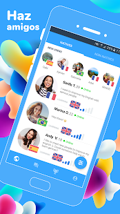 Speaky: Intercambio de Idiomas Screenshot