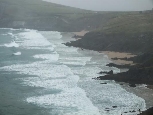 Giorno di nebbia sulle coste irlandesi di Giò Volpi