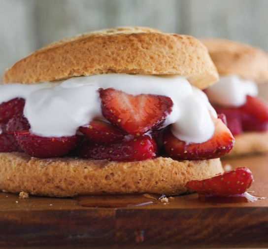 Photo: Strawberry Shortcakes - For the recipe, go to: http://bit.ly/IcOKVk
