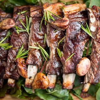 Rosemary and Garlic Braised Lamb Ribs