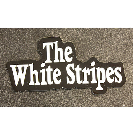 The White Stripes - Logo - Klistermärke