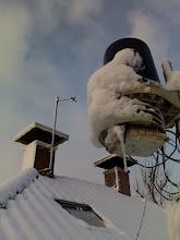 Photo: Op 16 en 17 dec. heb ik 18 cm. sneeuw gemeten.