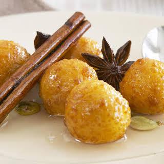 Gulab Jaman (Sweet Indian Fritters).