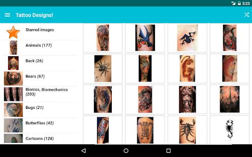 Tattoo Designs! - screenshot thumbnail
