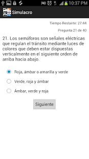 Examen Reglas Touring- screenshot thumbnail