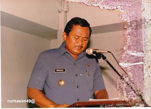 Photo: SUWAHYO. Walikotamadya Ujung Pandang (8-8-1988 sd,.15-11-1993)