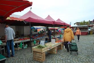 Photo: BRETANYA 2013. POINTE FINISTÈRE. LE CONQUET ( Konk-Leon ), dimarts dia de mercat setmanal
