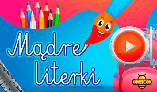 Mądre Literki LITE - Nauka pisania liter alfabetu screenshot 1