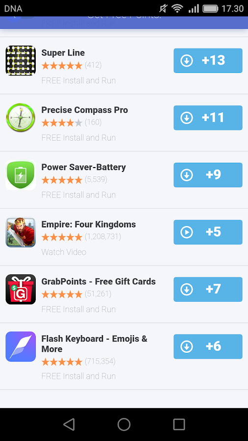 Free Gift Card Rewards- screenshot