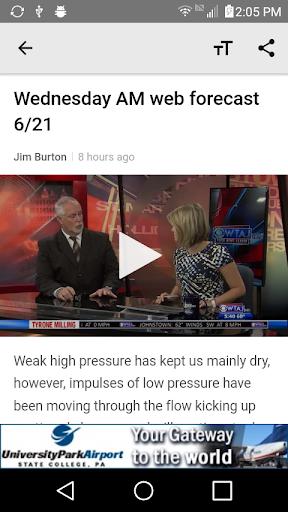 WTAJ Your Weather Authority  screenshots 5