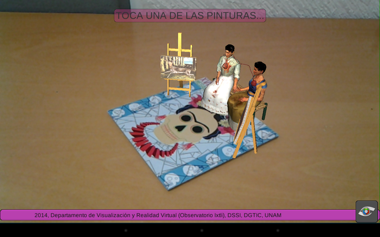 Mega Ofrenda DGTIC 2014- screenshot