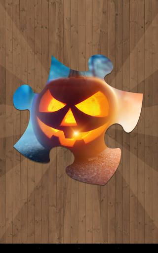 ハロウィーンのジグソーパズル