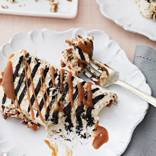 Salted Caramel–Toffee Icebox Cake