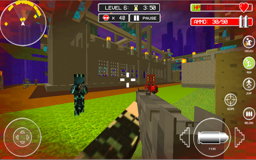 Block Gun 3D Battle Royale