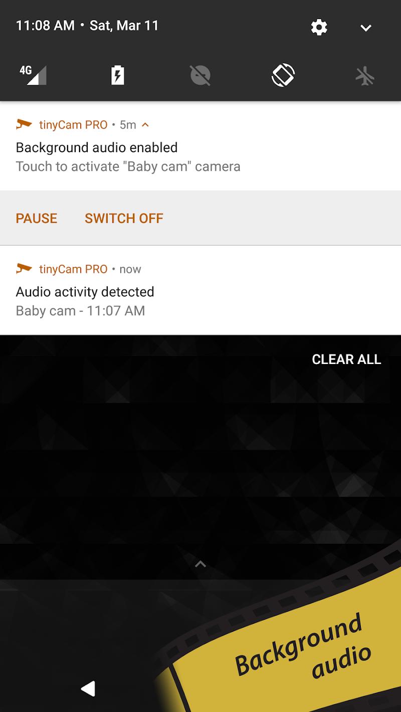 tinyCam PRO - Swiss knife to monitor IP cam Screenshot 5